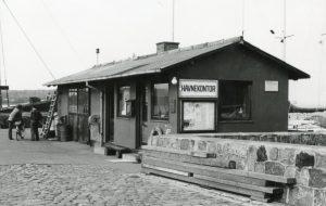 Havnekontoret omkring 1970