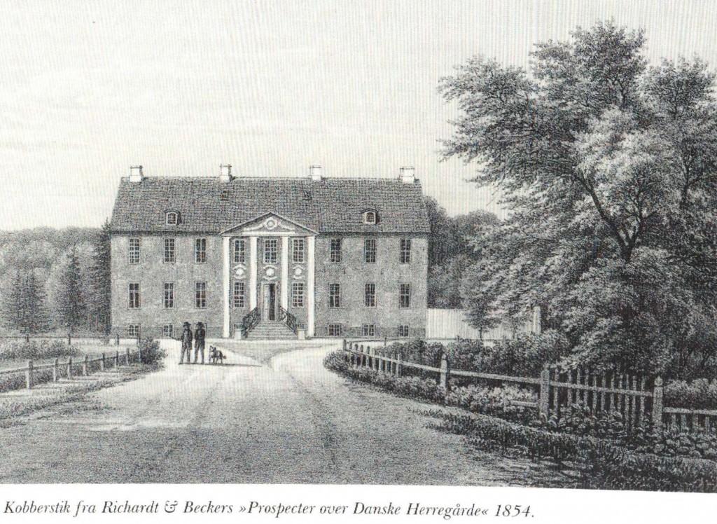 Beldringe hovedbygning 1854