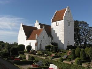 Jungshoved kirke fra syd