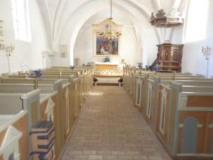 Bårse/Kirkerummet
