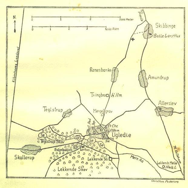 Kort fra 1860