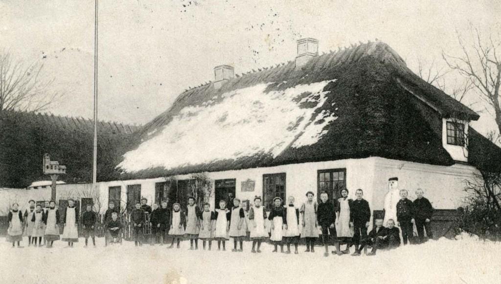 Dyrlev Rytterskole 1914 (B1111)