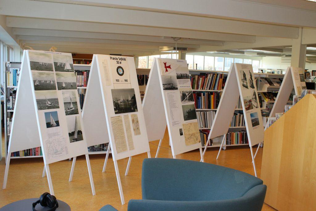 Udstillingen kunne ses på Biblioteket resten af november måned