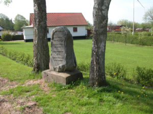 Genforenings-stenene i Præstø kommune