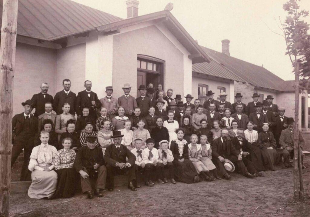 Bårse Forsamlingshus 1905