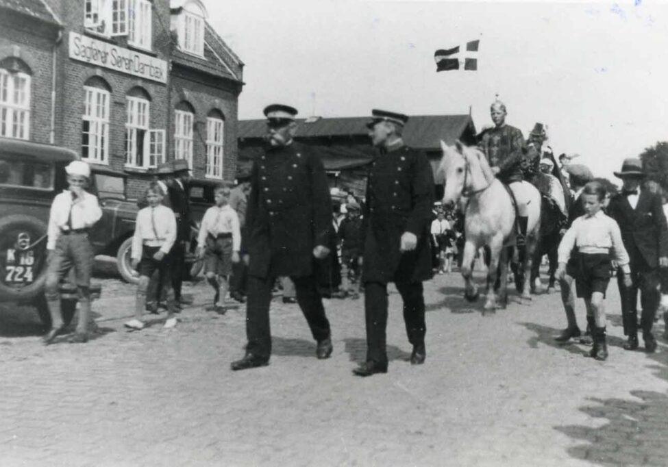 Kongebesøget 1937 i Præstø (B5380)